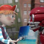 小原秀一がキャラクターデザイン 3DCGアニメで60秒、アットホームCMに登場