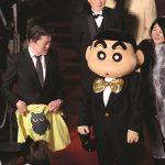 第30回東京国際映画祭レッドカーペットに、「クレヨンしんちゃん」「ポケモン」も登場