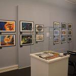 「中村光毅」初の回顧展 デンマークでオリジナル美術・イラスト中心の約70点