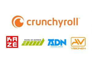 クランチロールとVIZ メディア・ヨーロッパ