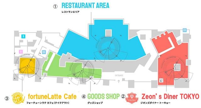 「GUNDAM Cafe TOKYO BRAND CORE」