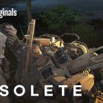 YouTubeオリジナルアニメ「OBSOLETE」が再生数5000万回突破