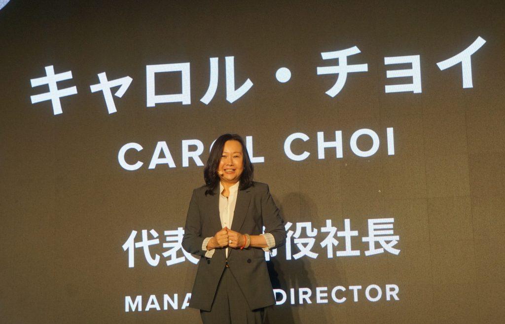 ウォルト・ディズニー・ジャパンの代表取締役社長兼マネージング・ディレクターキャロル・チョイ氏